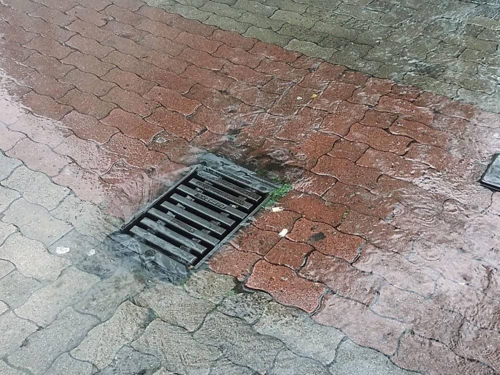 Niederschlagswasserableitung